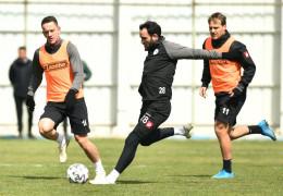 Konyaspor, Kasımpaşa maçı hazırlıklarına devam etti