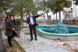 Meram Belediyesi parklardaki revizyon çalışmalarını sürdürüyor