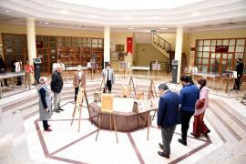 Selçuk Üniversitesinde Milli Şairi ve İstiklal Marşı'nı konu alan sergi