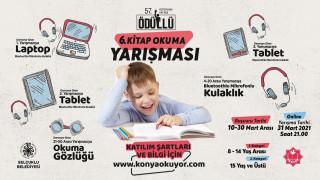 Selçuklu Belediyesi online kitap okuma yarışmasına başvuruda son 2 gün