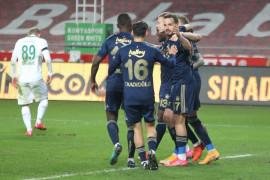 Süper Lig: Konyaspor: 0 – Fenerbahçe: 3 (Maç sonucu)