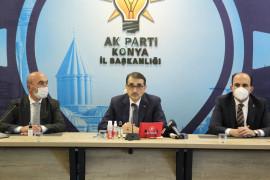 """Bakan Dönmez: """"Konya'da 1000 megavatlık tesisin yapımına başladık"""""""