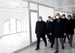 Başkan Altay yeni il kültür ve turizm müdürlüğü binasını inceledi