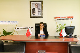 Hadim Devlet Hastanesi Başhekimi Uzman Dr. Esra İnce görevine başladı.