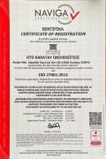 KTO Karatay Üniversitesi'nde bilginin güvenliği tescillendi
