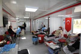 Konya Şeker'de kan bağışı kampanyası devam ediyor