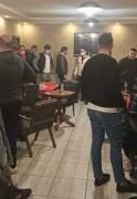 Konya'da kafenin gizli bölmesinde 39 kişi yakalandı