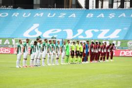 Süper Lig: Konyaspor: 0 – Hatayspor: 0 (İlk yarı)