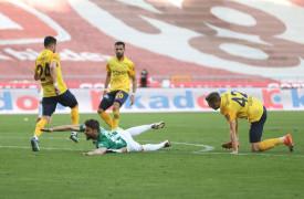 Süper Lig: Konyaspor: 1 – MKE Ankaragücü: 1