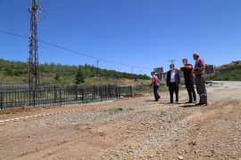 Hadim'de kiraz alım merkezi ek bina inşaatı başladı
