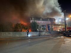 Konya'da bir lokantada patlama