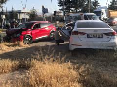 Konya'da cip ile otomobil çarpıştı: 6 yaralı