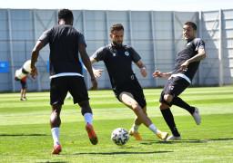 Konyaspor, Göztepe maçı hazırlıklarını tamamladı