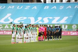 Süper Lig: Konyaspor: 0 – Trabzonspor: 0 (İlk yarı)