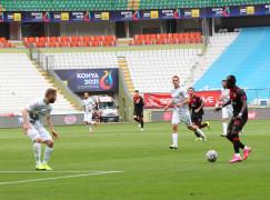 Süper Lig: Konyaspor: 1 – Fatih Karagümrük: 1 (İlk yarı)