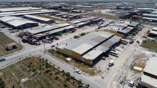 Yeni Meram Sanayi Sitesinde alt yapı yenileme çalışmaları başladı.