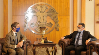 AB Türkiye Delegasyonundan Rektör Aksoy'a ziyaret