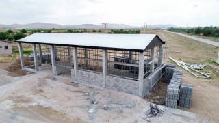 Meram Belediyesi Hatunsaray'a tohum eleme tesisi yapıyor