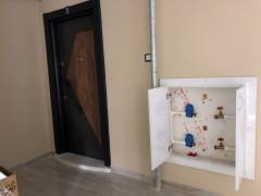Oturuma hazır binadan 12 su sayacı ve 21 çeşme bataryası çalındı