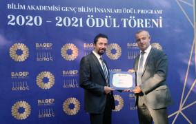Doç. Dr. Serdar Akbayrak, BAGEP ödülünü aldı