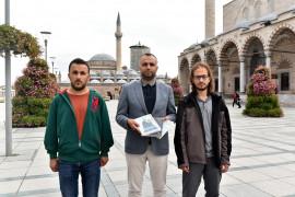 İzmir Büyükşehir Belediyesine sema gösterisi ve Mevleviliğin anlatıldığı kitaplar gönderildi