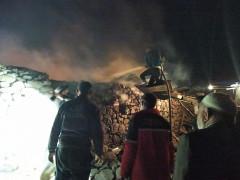 Konya'da ahırda çıkan yangın ucuz atlatıldı