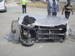 Ölümlü kazaya karışan sürücünün yeğen oyununu polis bozdu