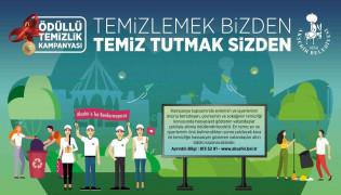 Akşehir Belediyesi'nden ödüllü temizlik kampanyası