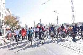 Konya Bisiklet Festivali'nde bisiklet turu coşkusu